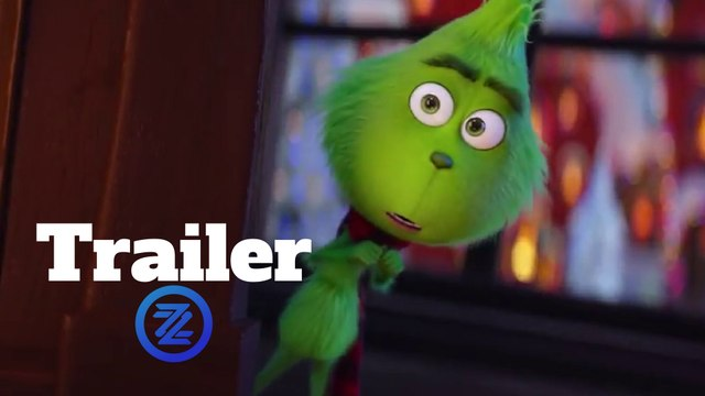 The Grinch Trailer #2 (2018) Benedict Cumberbatch Animated Movie HD