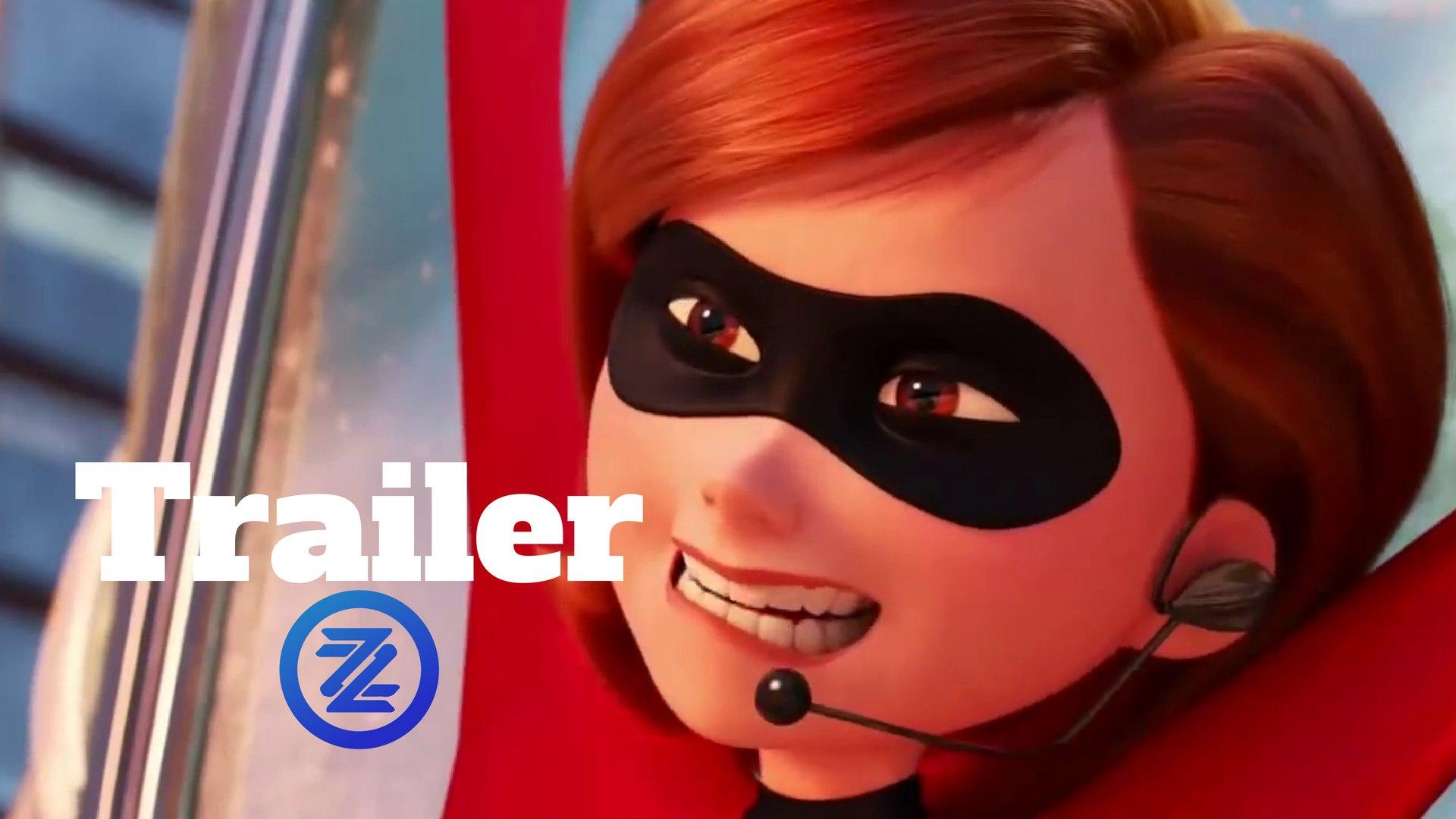 Incredibles 2 Trailer Violet Pranks Dash 2018 Disney Pixar Animated Movie Hd Video Dailymotion