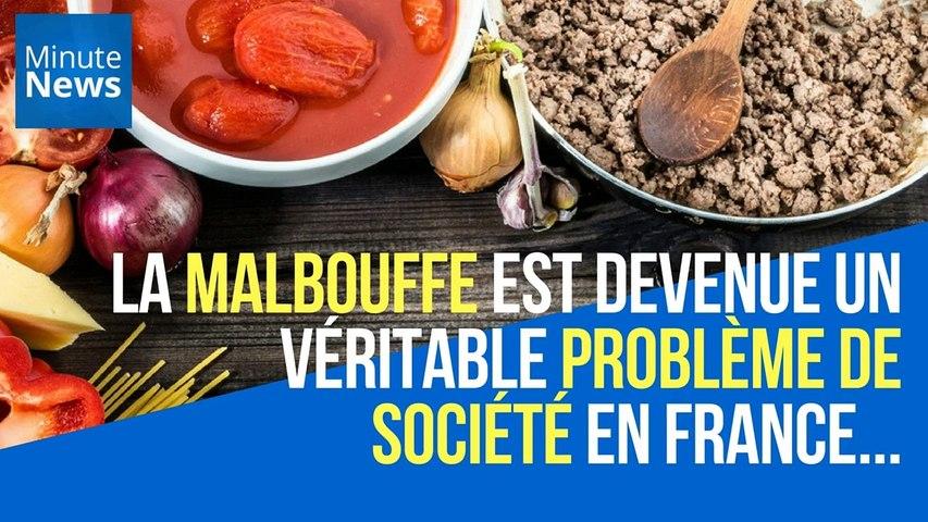 La malbouffe est devenue un véritable problème de société en France...