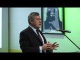 Gordon Brown at Mumsnet 10th birthday party