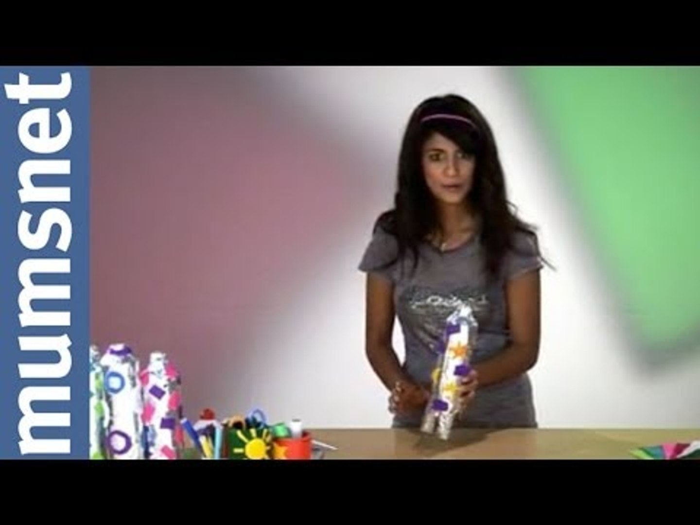 Konnie Huq makes Fairy Liquid Bottle Rockets