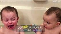 ¿Cómo llora un bebé a cámara lenta?