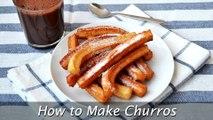 How to Make Churros - Easy Homemade Churros Recipe