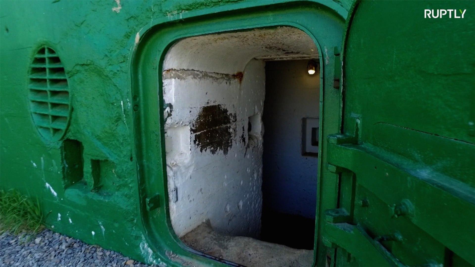 شاهد النفق الذي استخدمه النازيون أيام الحرب