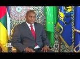RTG/Séance de travail entre le  président Centrafricain Faustin Archange Touadéra et le président Gabonais Ali Bongo Ondimba sur le maintien de l'armée Gabonaise à Bangui