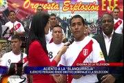 """Esquina de la Televisión: orquesta del Ejército Peruano """"Explosión ETE"""" le canta a la Bicolor"""