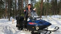 Ready, steady, go: Åsa Ivarsdotter from Sweden and her snow scooter are ready for the fabulous 25th Anniversary Celebrations on 9th June in Mannheim! Be sur