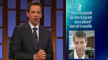 Late Night with Seth Meyers S01 - Ep60 Gerard Butler, Tony Shalhoub, Myq Kaplan HD Watch