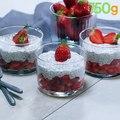 Les fraises sont de retour Voici un dessert gourmand et complet !La recette :