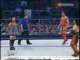Mysterio RVD and cena vs Suzuki Booker T and Dupree