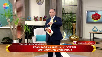 Prof. Dr. Mustafa Karataş ile İftar Vakti 54. Bölüm - 12 Haziran 2018