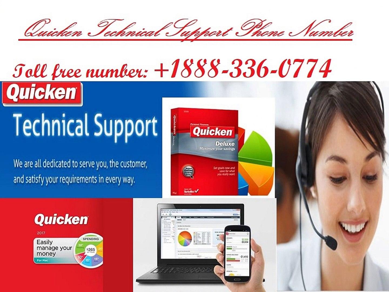 Quicken Support Number +1888-336-0774