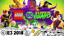 LEGO DC Super Villains Live Gameplay Demo And Character Customization | E3 2018