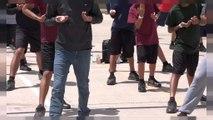 Niños arrancados de sus familias al llegar a la frontera entre México y EE.UU.