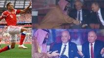 Fifa World Cup 2018 : Vladimir Putin Shakes Hand With Crown Prince Mohammed Bin Salman!