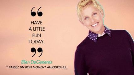 The Ellen Show, c'est en exclu sur ELLE Girl TV ! Du lundi au vendredi à 12h45 et en US+24 à 1h30 !