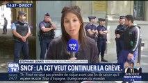 La CGT-cheminots continuera la grève au mois de Juillet