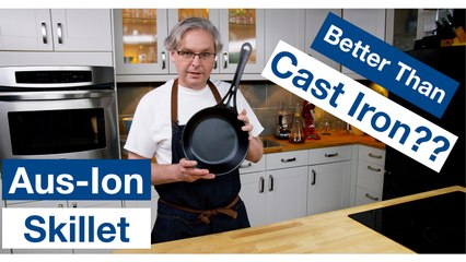 Solidteknics AUS-ION Wrought Iron Pan Unboxing, Seasoning, & Review || Le Gourmet TV Recipes