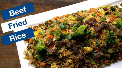 Teriyaki Beef Fried Rice Recipe