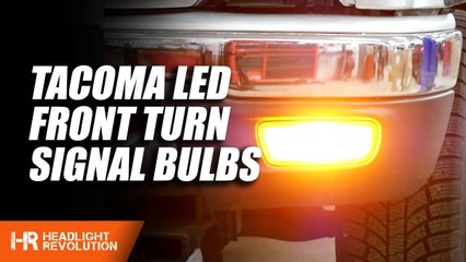 Toyota Tacoma LED Front Turn Signal Bulbs | Headlight Revolution