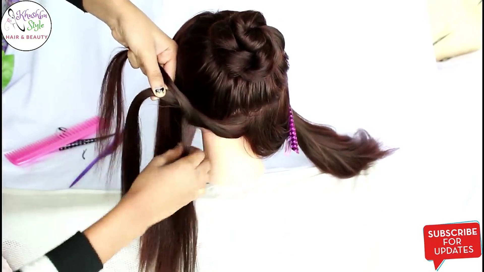 hairstyles 2018 -- hair design -- hair style girl -- cute hairstyles -- natural hair styles