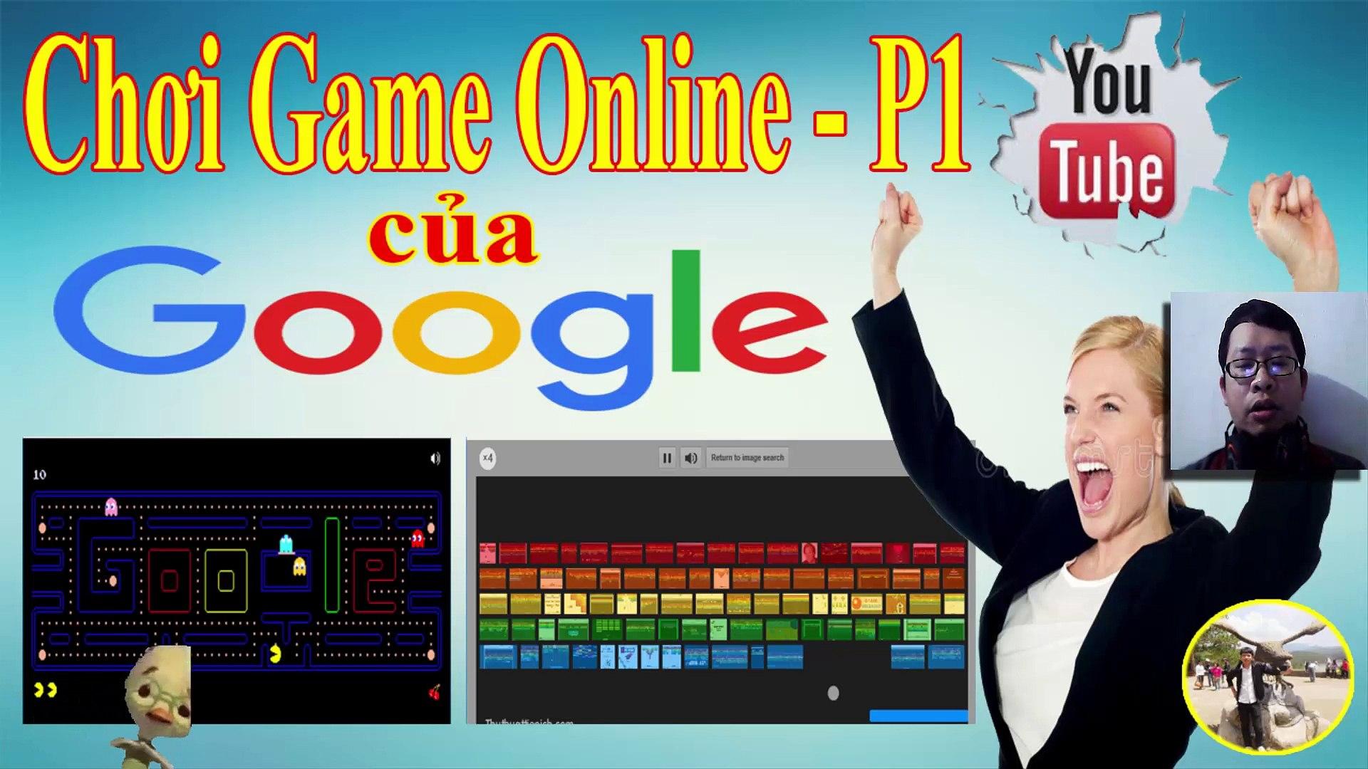 Hướng dẫn cách chơi Game Online Trực Tiếp trên Google Search Phần 1