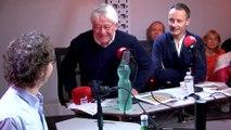 Antoine Duléry et Radu Mihaileanu dans A La Bonne Heure !