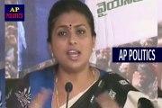 MLA Roja Reacts on Pawan Kalyan Vs RGV and Sri Reddy Issue _ YSRCP Press Meet-AP Politics