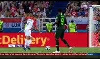 Résumé et objectifs du match entre la Croatie et le Nigeria 2-0 un jeu amusant et fort commentaire Hafid Draghi