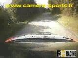 CAMERA EMBARQUEE RALLYE DU SURAN ES4 PEUGEOT 206 WRC