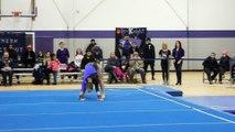 Kelly Aycock Floor Exercise Bridgeport 2-12-16