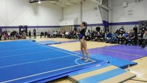 Kelsey Campbell Floor Exercise Bridgeport partial 2-12-16