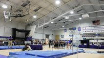 Kimberly Stewart Uneven Bars Bridgeport 2-12-16