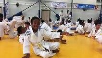 Samedi 20 janvier. Excellente Animation ludique à l'IMS avec plus de 200 enfants organisée par la Ligue De Judo Martinique. Les enfants, les parents, les profes