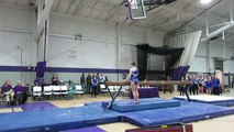 Exhibition 2 Balance Beam SCSU 2-12-16