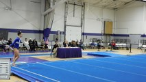 Kate Aberger Floor Exercise SCSU 2-12-16