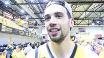 Fos Provence Basket en Jeep Elite : réaction du MVP Pierre Pelos