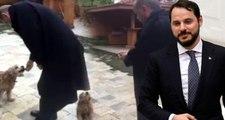 Köpek Besleyen Erdoğan, Yiyeceğin Soğuk Olduğunu Fark Edince Elinde Isıttı