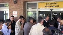 Gaziantep'teki hastane yangını - Adalet Bakanı Gül, hastaları ziyaret etti