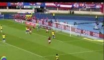 Résumé et objectifs du Brésil contre l'Autriche 3-0 (le merveilleux but de Neymar) Brésil prêt pour la Coupe du Monde 2018