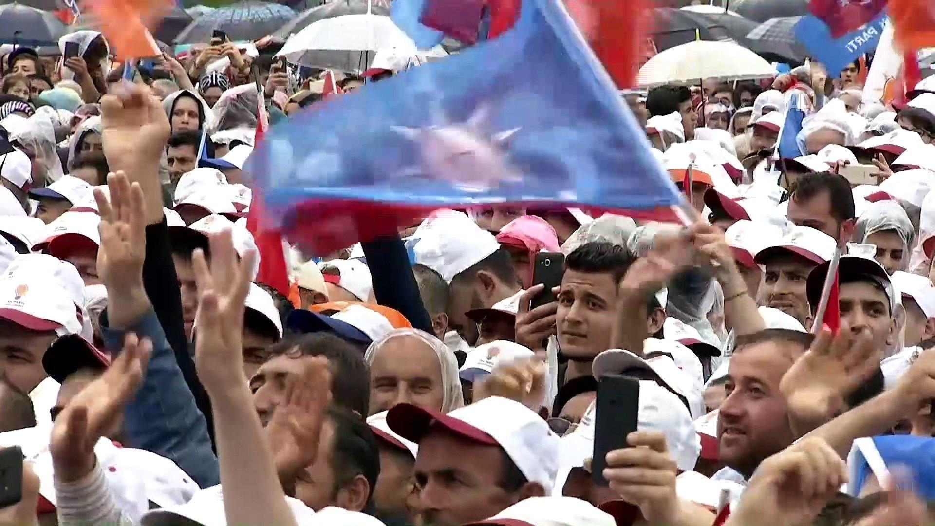 Cumhurbaşkanı Erdoğan: 'Bay Muharrem'in yalanlarını, tutarsızlıklarını ifşa etmeye devam e