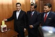 Azmin checks out of Selangor MB's office