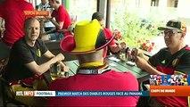 Mondial 2018, Belgique-Panama: les supporters belges sont à Sotchi