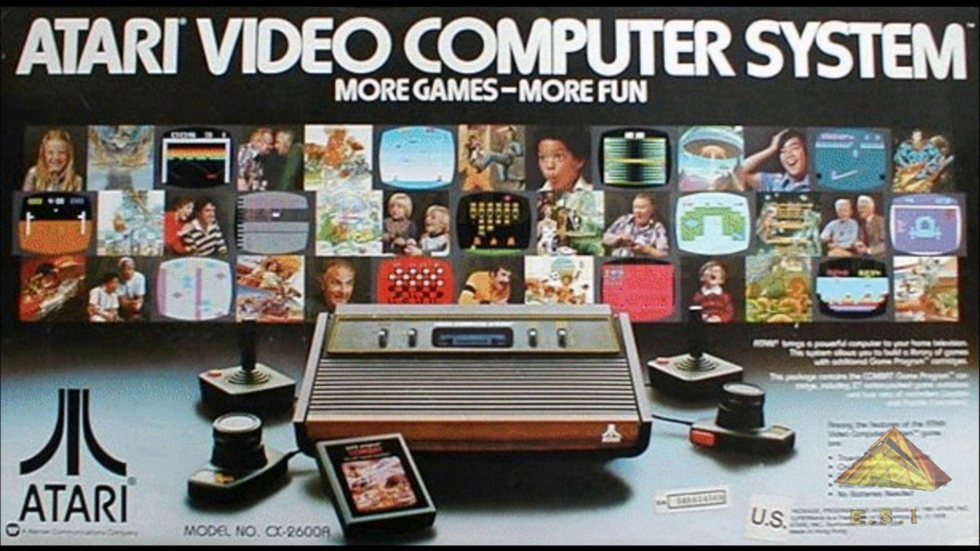 Tudo sobre o Atari 2600 no mundo e no Brasil, hardware completo marcas em destaque mitos e verdade s