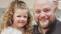 Single dad learns how to do daughter's hair, teaches other fathers