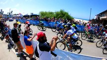 """Ride with me on stage 2 of the Amgen Tour of California thanks to GoPro and Maciej Bodnar!!! It's always crazy at the """"Cookie Corner""""... BORA hansgrohe Speciali"""