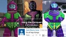 Kang the Conqueror Evolution in Lego videogames!