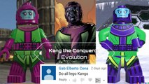 Kang the Conqueror Evolution in Lego videogames!