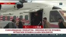 Tansu Çiller Yenikapı'daki bir milyonu aşkın vatandaşı i