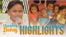 Magandang Buhay: Francis Concepcion delivers a heartwarming message to his parents and siblings